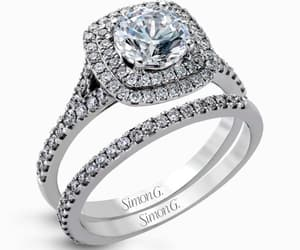 diamonds, engagement, and jewelry image