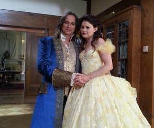 belle, once upon a time, and rumbelle image