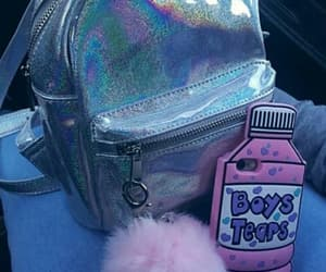 bag, holographic, and phonecase image