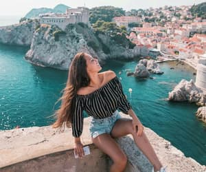 travel, fashion, and summer image