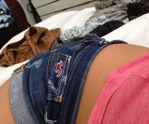 hollister, pink, and shorts image