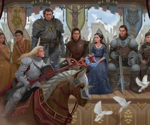 game of thrones, eddard stark, and house stark image