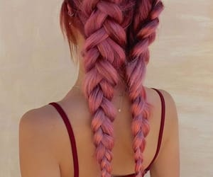 braid, hair, and style image