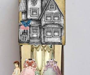 etsy, victorian doll, and victorian house image