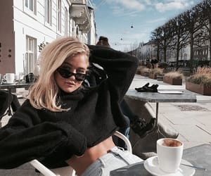 coffee, cafe, and fashion image