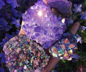 crystal, gems, and grunge image