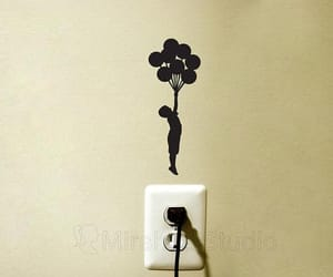 art, etsy, and light switch image