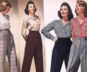 40s, fashion, and retro image