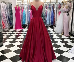 dress, idea, and Prom image