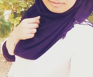 dz, girl, and hijab image