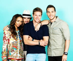 chris wood, ian somerhalder, and kat graham image