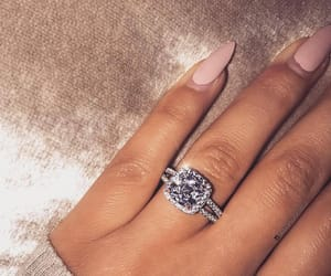 beauty, girl, and ring image