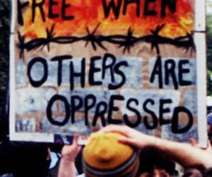 free, freedom, and protest image