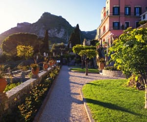 blue, europe, and gardens image