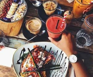 food, healthy, and table image