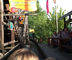 amusementpark, rollercoaster, and holiday image