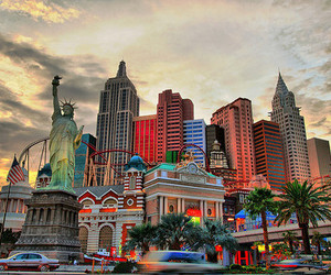 photography, city, and Las Vegas image