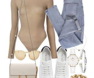 bag, jeans, and outfit image