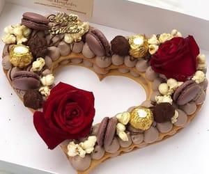 heart, beautiful, and cake image