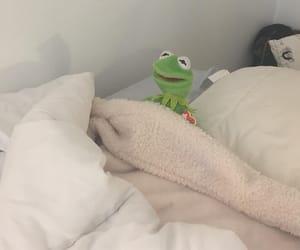 bed, kermit, and minimal image