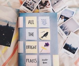 book, all the bright places, and photography image