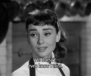 audrey hepburn, black and white, and quotes image
