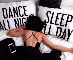 black dress, ideas, and pillows image