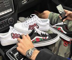 car, sneakers, and vans image