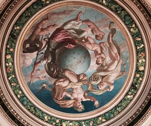 ceiling, london, and painting image