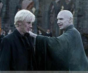 harry potter, voldemort, and draco malfoy image