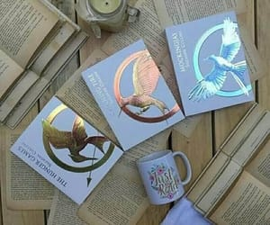 book, the hunger games, and reading image