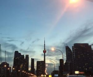 canada, CN tower, and Drake image