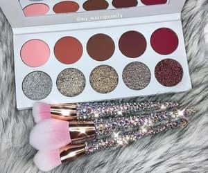 make up, Brushes, and cosmetics image