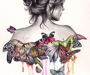 :3, butterflies, and ♥ image