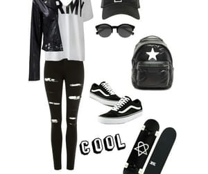 black, Polyvore, and cool image