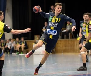 boys, player, and handball image