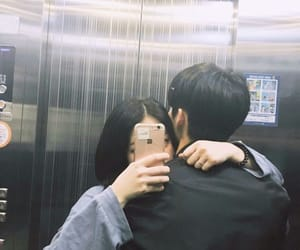 aesthetic, elevator, and couples image