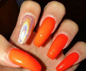 coffin, glossy, and nails image
