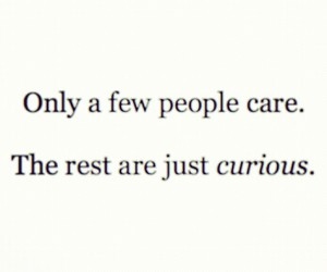 quote, care, and people image