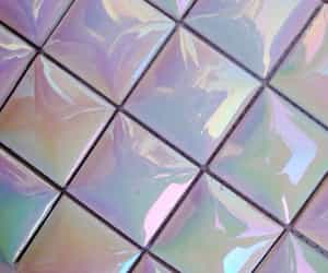 aesthetic, holographic, and grunge image