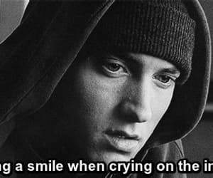 eminem, smile, and crying image