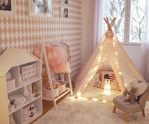 bedroom, classy, and children image