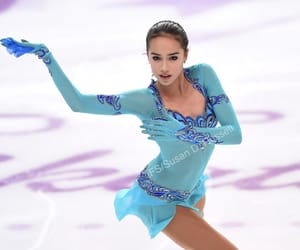 russia, alina, and figure skater image
