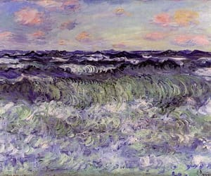 art, painting, and claude monet image