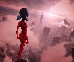 ladybug, miraculous, and new york image