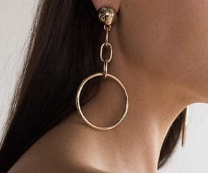 earring, fashion, and girl image