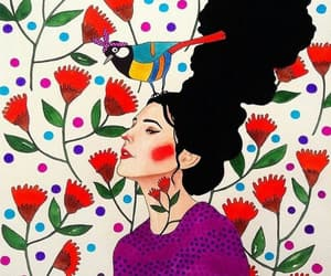art, flowers, and hulya ozdemir image