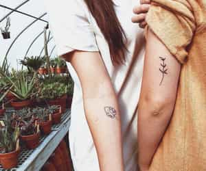 tattoo, couple, and aesthetic image