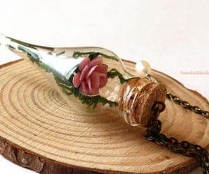 etsy, Glass Bottle, and terrarium image
