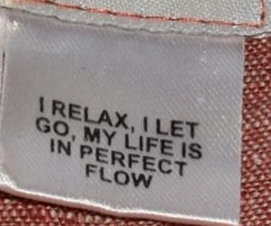 quotes, life, and relax image
